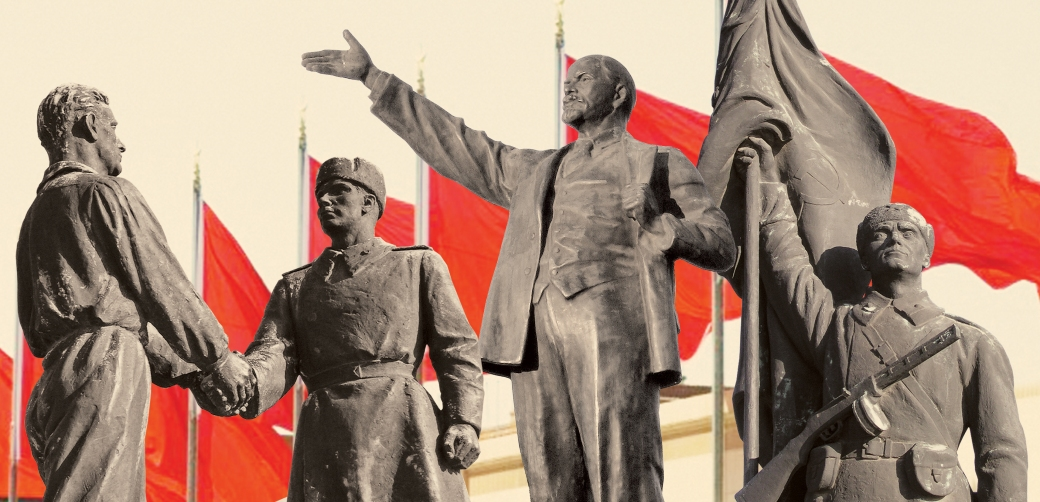 Communist statues from the Memento Park Museum, Hungary. Photo courtesy the museum website.